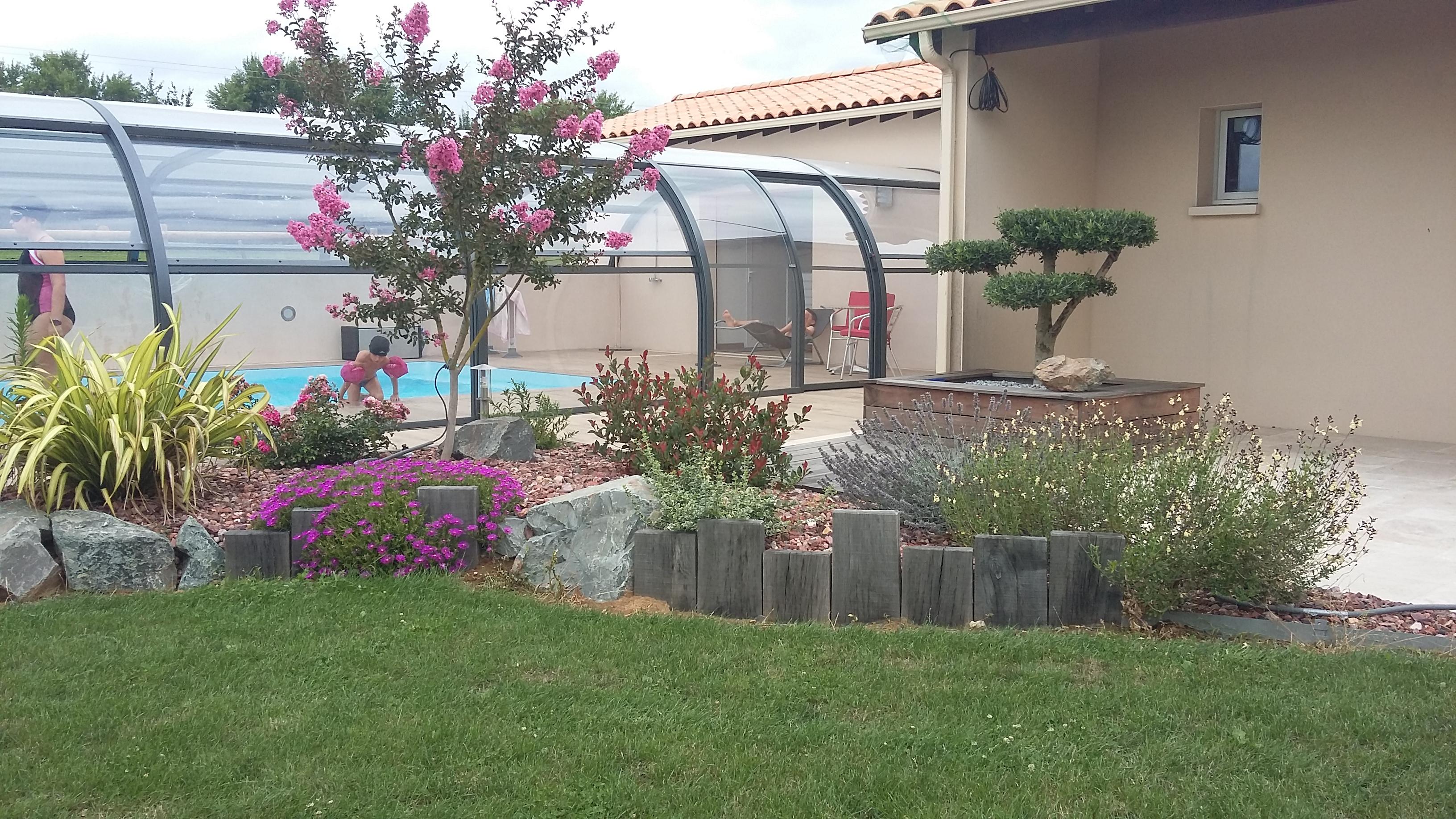 Création de jardin à Pissotte